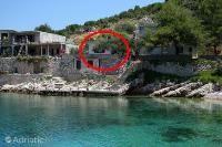 4603 - K-4603 - croatia house on beach