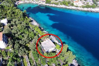 4464 - A-4464-a - croatia house on beach