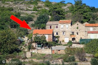 2462 - A-2462-a - croatia house on beach