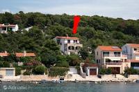 5142 - A-5142-a - croatia house on beach
