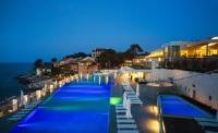 Vitality Hotel Punta - Dvokrevetna soba Comfort s bračnim krevetom na morskoj strani - Veli Losinj