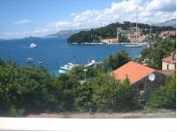 Guest House Tija 1 - Dvokrevetna soba s bračnim krevetom, pogledom na more i balkonom - Sobe Cavtat
