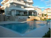 House Novalia - Economy Double Room with Balcony - island brac house with pool