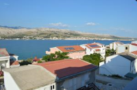 Apartments Anton - Two-Bedroom Apartment with Sea View - sea view apartments pag