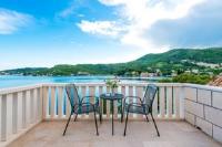 Villa Kukuljica - Dvokrevetna soba s bračnim krevetom s pogledom na more - Zaton