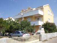 Apartments Pečnik - Appartement 2 Chambres avec Balcon et Vue sur la Mer - Appartements Povljana