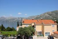 Villa Stanovic Kate - Dvokrevetna soba s bračnim krevetom, balkonom i bočnim pogledom na more - Sobe Cavtat