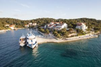 Hotel Odisej - Double Room with Balcony and Sea View - Rooms Cervar Porat