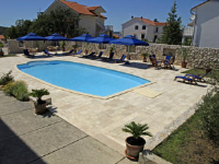 Apartments Villa Olga - Two-Bedroom Apartment with Balcony with Sea View - Apartments Rab