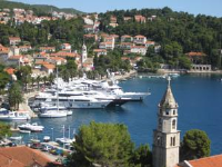 Villa Rozic - Double or Twin Room with Sea View - Rooms Cavtat