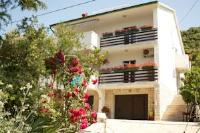Apartments Maja - Familien-Apartment mit 2 Schlafzimmern sowie einer Terrasse und Meerblick - Ferienwohnung Supetarska Draga