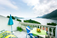 Apartments Laura Mljet - Apartman s 1 spavaćom sobom s balkonom i pogledom na more - Sobra