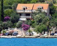Vila Luka - Dvokrevetna soba s bračnim krevetom i balkonom s pogledom na more - Sobe Luka