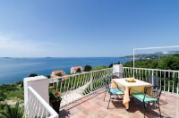 Apartments Sandito - Double Room with Terrace and Sea View - Rooms Mlini