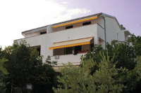 House Anita - Studio s balkonom i pogledom na more - krk kuca na plazi