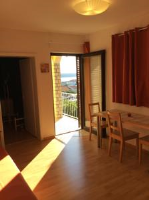 Apartments Casa Barbara - Apartman s 1 spavaćom sobom, terasom i pogledom na more - Rab
