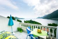 Apartments Laura Mljet - Apartment mit 1 Schlafzimmer, Balkon und Meerblick - Ferienwohnung Sobra