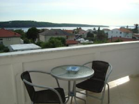 Apartments Kuhar - Apartman s 2 spavaće sobe, terasom i pogledom na more – Potkrovlje - Rab