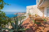 Angelic Apartments - Appartement 1 Chambre Supérieuravec Terrasse et Vue sur la Mer (2-3 Adultes) - Ploce