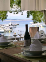 B&B Galija - Comfort Triple Room with Terrace and Sea View - Sobe Crikvenica