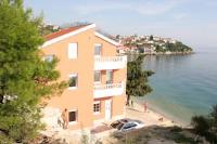 Villa Nelo - Apartman s 1 spavaćom sobom s popločanim dijelom dvorišta i pogledom na more - Podaca