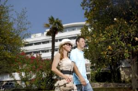 Mediteran Residence - Standard Twin Room with Balcony - Rooms Rabac