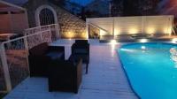 Apartments Skandi1 - Apartman s 2 spavaće sobe s balkonom i pogledom na more - Malinska