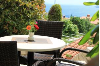 Apartments Mareblu - Standard One-Bedroom Apartment with Terrace and Sea View - Houses Rabac