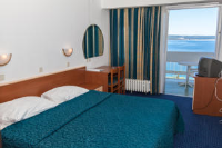 Hotel Omorika - Standard Twin Room with Balcony - Sea Side - Rooms Crikvenica