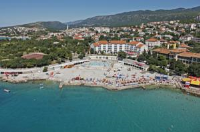 Hotel Lisanj - Double or Twin Room with Sea View - Rooms Novi Vinodolski