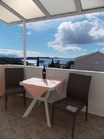 Apartments and Rooms Jasna - Chambre Double avec Terrasse - Chambres Hvar