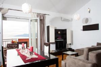 Apartments Bay View - Apartment mit 3 Schlafzimmern, einem Balkon und Meerblick - Kastav