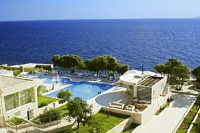Luna Island Hotel - Deluxe Double Room with Balcony and Sea View - Rooms Zecevo Rogoznicko