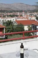 Apartments Kudelik - Dvokrevetna soba s bračnim krevetom s pogledom na more - Sobe Trogir