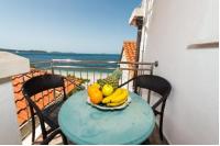 Beach House Poseydon - Trokrevetna soba s pogledom na more - Sobe Mlini