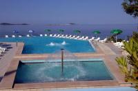Hotel Orphee - Chambre Lits Jumeaux avec Balcon et Vue sur Mer - Chambres Mlini