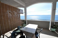 Apartments Davor Ceko - Apartman s 3 spavaće sobe s balkonom i pogledom na more - Apartmani Dugi Rat
