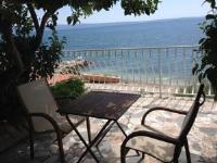 B&B Florencio - Dreibettzimmer mit Terrasse und Meerblick - Zimmer Podstrana