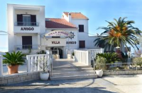 Villa Amigo - Triple Room with Balcony and Sea View - Rooms Podstrana