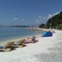 Beach Villa BB - Dvokrevetna soba s bračnim krevetom - Sobe Jezera