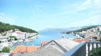 Villa Libana - Apartment mit 2 Schlafzimmern, einem Balkon und Meerblick - Povlja