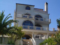 Villa Corona - Quadruple Room with Sea View - Rooms Trogir