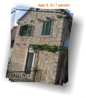 Apartment in Brac-Bol I - Appartement 1 Chambre - Appartements Bol