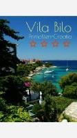 Vila Bilo - Apartment mit einem Balkon und Meerblick (2 Erwachsene) - Ferienwohnung Primosten Burnji