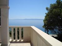 Rooms Adagio - Dvokrevetna soba s bračnim krevetom i balkonom s pogledom na more - Sumartin