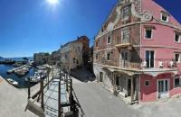 Villa Igrane - Apartment mit 2 Schlafzimmern, einem Balkon und Meerblick - Igrane