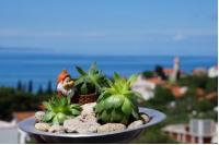 Apartments Mateljak - Apartman s 1 spavaćom sobom s balkonom i pogledom na more - Gradac