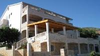 Guesthouse Braco - Trokrevetna soba s balkonom i pogledom na more - Sobe Poljane