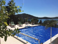 Villa Lana Apartments - Apartman s 1 spavaćom sobom s pogledom na more - Apartmani Tisno