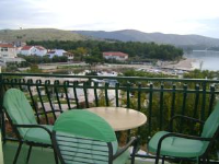 Apartments Marta - Apartman s 1 spavaćom sobom s balkonom i pogledom na more (4 odrasle osobe) - Apartmani Zaboric